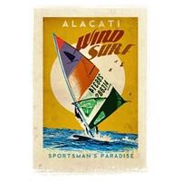 Türkiye Posterleri: Alaçatı Rüzgar Sörfü
