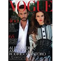 Alessandra Ambrosio& Rodrigo Santoro Vogue Brezily
