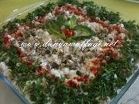 Mısırlı Makarna Salatası