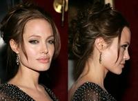 Angelina Jolie'nin Tüm Saç Modelleri