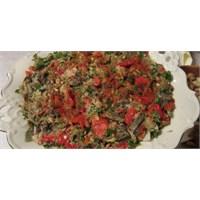 Fazlıkızından Közlenmiş Patlıcan Salatası