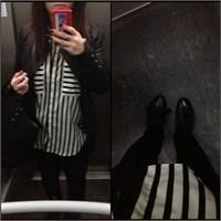 Ne Giydim ? Siyah- Beyaz Gömlek