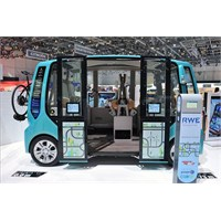 Geleceğin Akıllı Minibüsü: Rinspeed Micromax