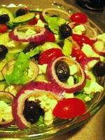 Soya Filizli Enginar Salatası