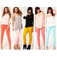 İlkbahar- Yaz Trendi: Rengarenk Pantolonlar!
