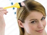 Evde Saçları Boyamak