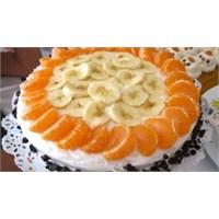 Meyveli Yaş Pasta Tarifi, Çok Kolay