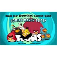 Angry Birds'ün Çizgi Filmi 16 Mart'ta Başlıyor