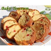 Kuru Meyve Şekerlemeli Kek