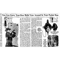 1910 Yılından Cep Telefonu Manzaraları...