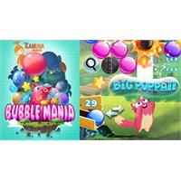 Bubble Mania™ İphone Balon Patlatma Oyunu