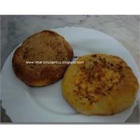 Ekmek Makinasında Tahinli- Yumurtalı Pideler