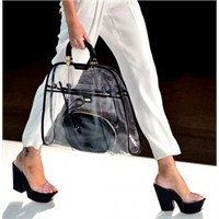 2012 Yazının En Trend Çantası:transparan Çanta