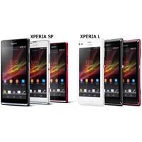 Sony Xperia Sp Ve L, Tanıtıldı