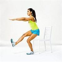 Bacak Sıkılaştırma Hareketleri (resimli)
