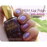 H&m Nail Polish - Purple Sprinkles
