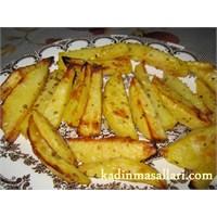 Frırında Elma Dilim Patates