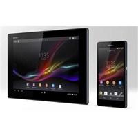 Sony, Xperia Z İle Çıtayı Yükseltiyor