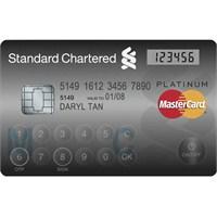 Mastercard Ekran ve Tuş Takımına Sahip Kredi Kartı