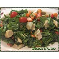 Enginarlı Kuzukulağı Salatası Ve İstavrit Kızartma