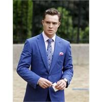 2013 Koleksiyonu Mavi Takım Elbise Modelleri