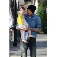 David Beckham Ve Minik Kızı