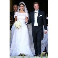 İsveç Prensesi Madeleine 'nin Valentino Gelinliği
