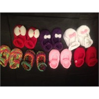 2014 Kız Bebek Patik Modelleri