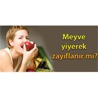 Sadece meyve yiyerek zayıflama