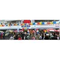 Makro Market Samsun'da 2 Şube Birden Açtı