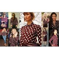 Giymeyen Kalmadı | Burberry Heart Shirt