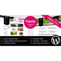 Royalty Wordpress Restorant Teması