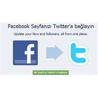 Facebook Sayfanızı Twitter'a Bağlayın