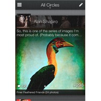 Google Android Dururken Yeni Google+ Uygulaması