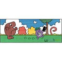 Google'dan Roger Hargreaves İçin Özel Logo(Lar)