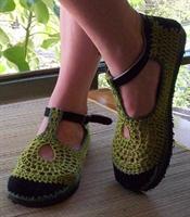 Rengarenk Yazlık Örme Ayakkabılar