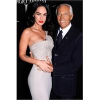 Giorgio Armani'nin yeni yüzü Megan Fox