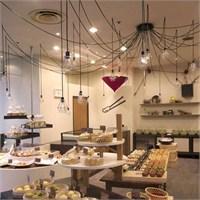İnly Design'dan Konjaku-an Cafe Aydınlatma