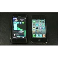 Nokia X7 Ve İphone 4 – Karşılaştırma