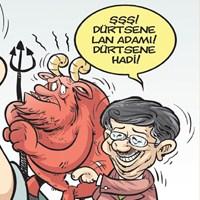 Ahmet Davutoğlu Gırgır'ın Kapağında!