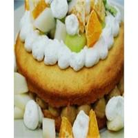 Meyveli Kahveli Pasta