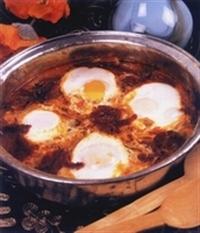 Pastırmalı Yumurtalı Kıyma Tarifi