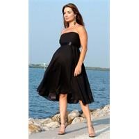 Hamile Kadınlara Abiye Elbise Modelleri