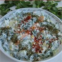 Yoğurtlu Semizotu Salatası (Resimli Anlatım)