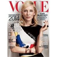 Cate Blanchett - Vogue Us Ocak 2014