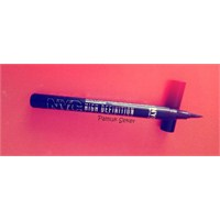 Nyc High Definition Liquid Eyeliner / Extra Black