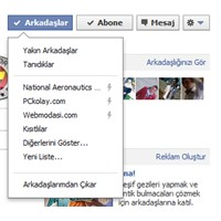 Facebook: Akıllı Liste Ve Abonelik Sistemi