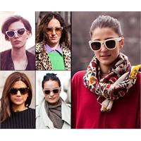 Avrupalı Kadınlar Bu Gözlükleri Takıyor...