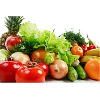 Sağlığınız İçin Çiğ Sebze Ve Meyve Tüketin