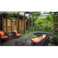 2011 Bahçe Dekorasyon Trendleri